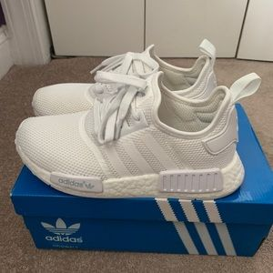 Adidas White Nomad, size 7 in kids
